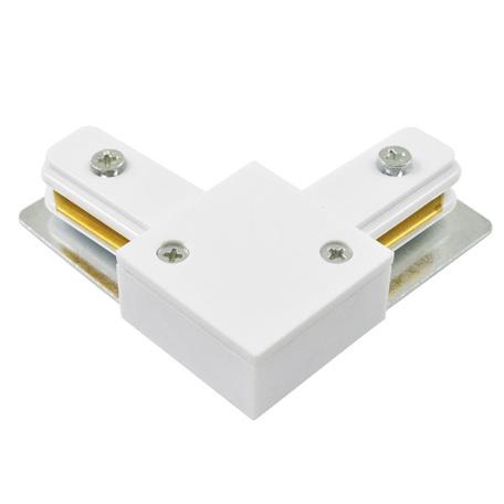 L-образный соединитель для шинопровода Arte Lamp Instyle A120033, белый, металл, пластик