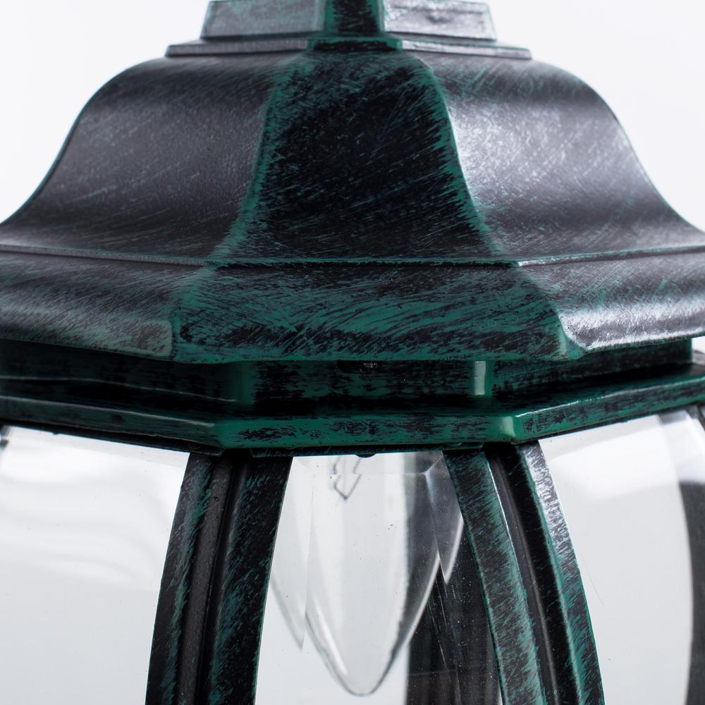 Подвесной светильник Arte Lamp Atlanta A1045SO-1BG, IP21, 1xE27x75W, бирюзовый, прозрачный, металл, ковка, металл со стеклом - фото 4