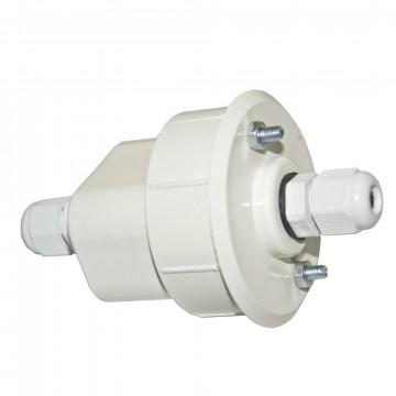 Подвод питания для трековой системы Arte Lamp Instyle Highway A220033, белый, пластик