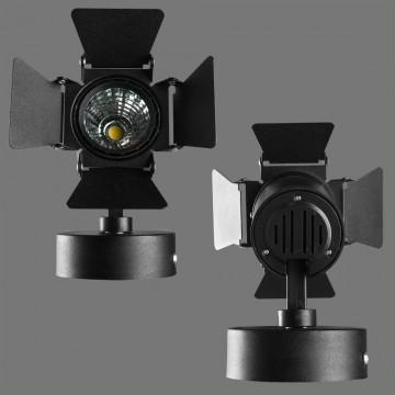 Потолочный светильник с регулировкой направления света Arte Lamp Instyle Falena A6709AP-1BK 4000K (дневной), черный, металл