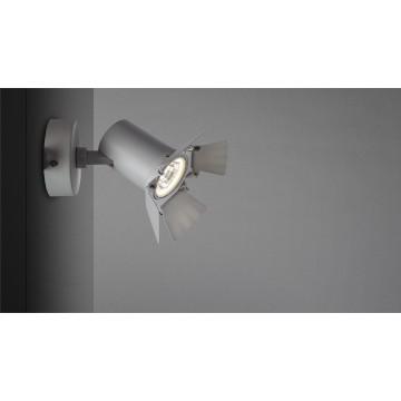 Потолочный светильник с регулировкой направления света Arte Lamp Instyle Falena A6709AP-1WH 4000K (дневной), белый, металл