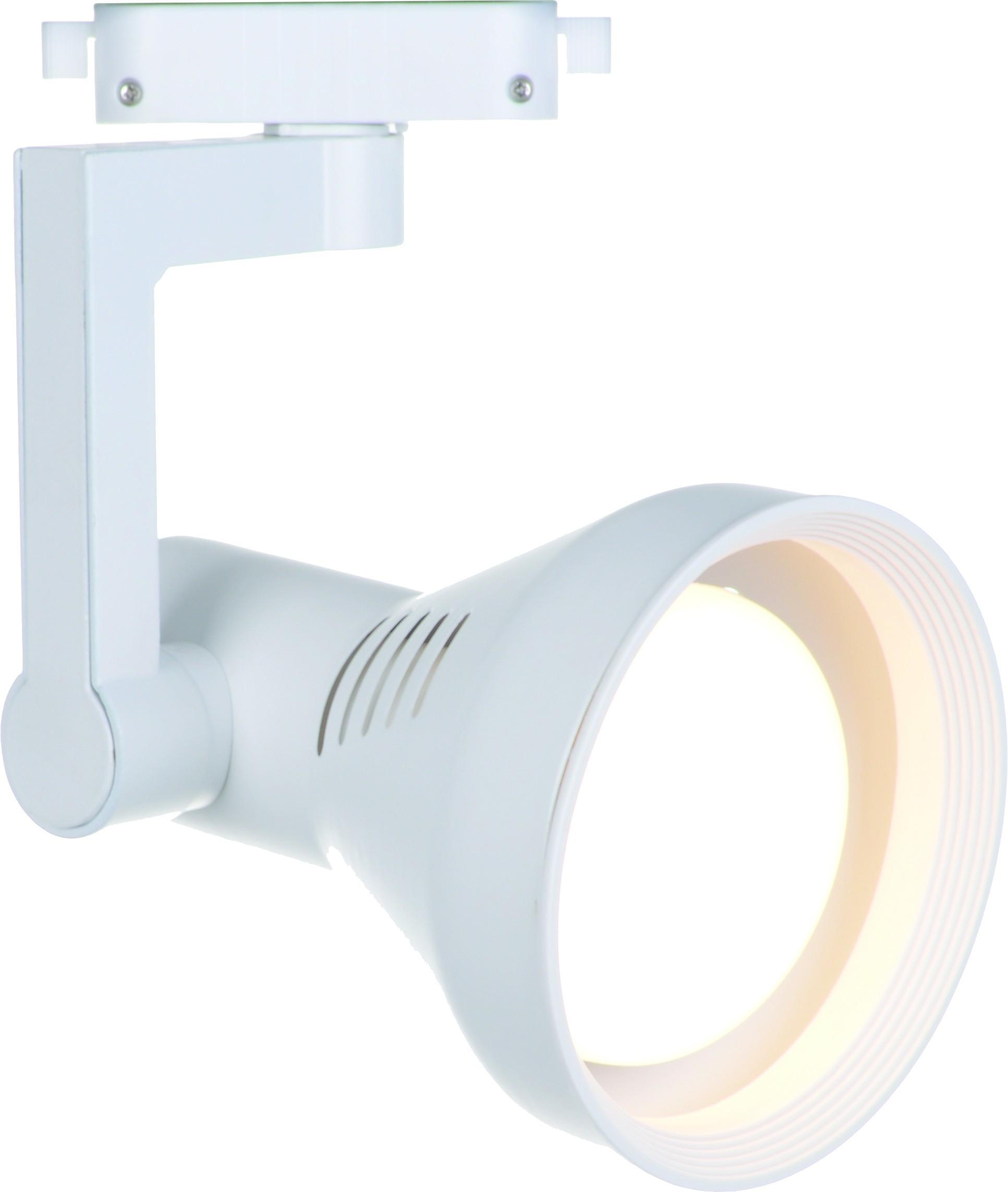 Светильник для шинной системы Arte Lamp Instyle Nido A5109PL-1WH, 1xE27x60W, белый, металл - фото 1