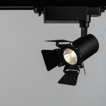 Светильник для шинной системы Arte Lamp Instyle Falena A6709PL-1BK 4000K (дневной), черный, металл - миниатюра 1