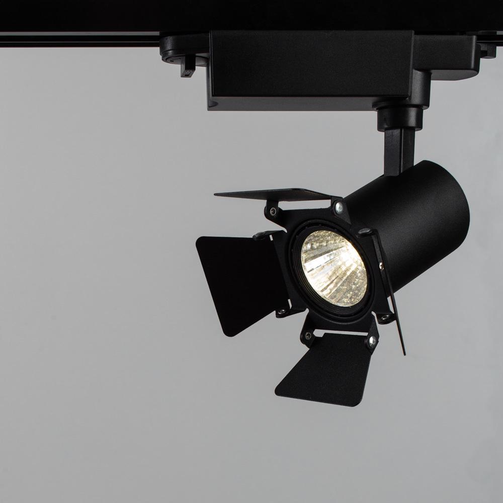 Светильник для шинной системы Arte Lamp Instyle Falena A6709PL-1BK 4000K (дневной), черный, металл - фото 1