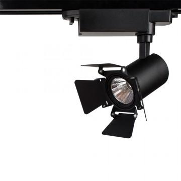 Светильник для шинной системы Arte Lamp Instyle Falena A6709PL-1BK 4000K (дневной), черный, металл - миниатюра 2