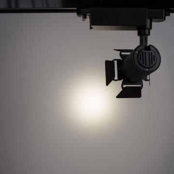 Светильник для шинной системы Arte Lamp Instyle Falena A6709PL-1BK 4000K (дневной), черный, металл - миниатюра 3