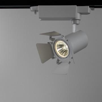Светильник для шинной системы Arte Lamp Instyle Falena A6709PL-1WH 4000K (дневной), белый, металл