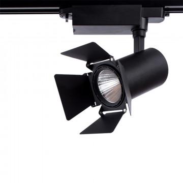 Светильник для шинной системы Arte Lamp Instyle Falena A6720PL-1BK 4000K (дневной), черный, металл