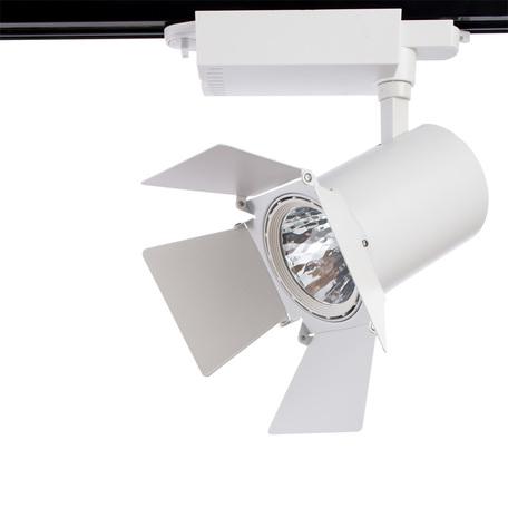 Светодиодный светильник для шинной системы Arte Lamp Instyle Falena A6730PL-1WH, 4000K (дневной), белый, металл