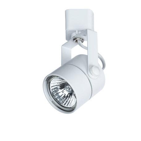Светильник с регулировкой направления света для шинной системы Arte Lamp Instyle Lente A1310PL-1WH, 1xGU10x50W, белый, металл