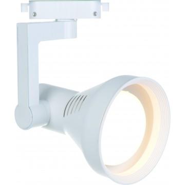 Светильник для шинной системы Arte Lamp Instyle Nido A5109PL-1WH, 1xE27x60W, белый, металл