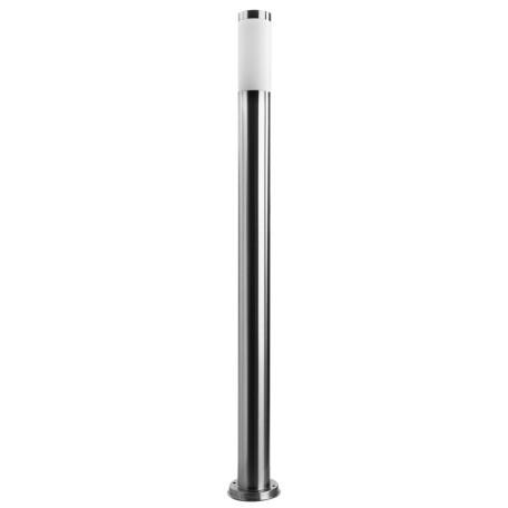 Уличный фонарь Arte Lamp Salire A3157PA-1SS, IP44, 1xE27x40W, серебро, белый, металл, пластик
