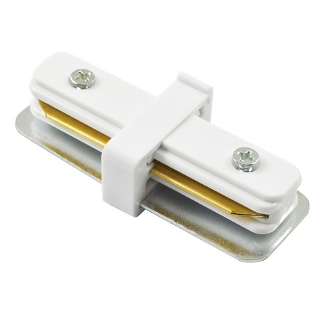 Внутренний прямой соединитель для шинопровода Arte Lamp Instyle A130033, белый, металл, пластик