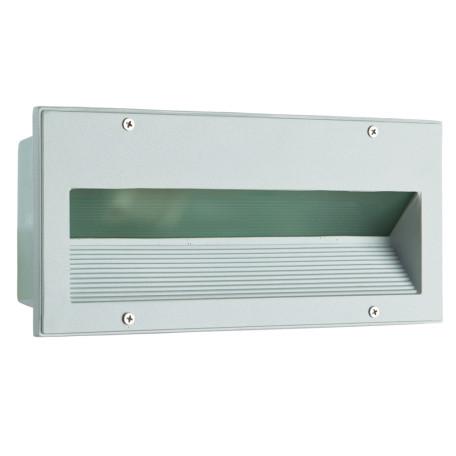Встраиваемый настенный светильник Arte Lamp Brick A5158IN-1WH, IP54, 1xE27x60W, белый, металл, стекло