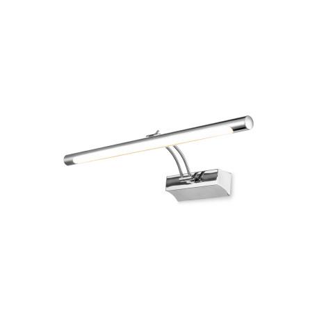 Настенный светодиодный светильник для подсветки картин Maytoni Fino MIR003WL-L12CH, LED 12W 3000K 860lm CRI83, хром, металл, пластик