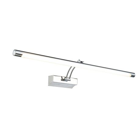 Настенный светодиодный светильник для подсветки картин Maytoni Fino MIR003WL-L16CH, LED 16W 3000K 1200lm CRI83, хром, металл, пластик