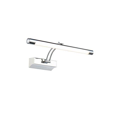 Настенный светильник для подсветки картин Maytoni Fino MIR003WL-L7CH 3000K (теплый), хром, белый, металл, пластик