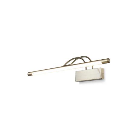 Настенный светодиодный светильник для подсветки картин Maytoni Finelli MIR004WL-L12BZ, LED 12W 3000K 800lm CRI83, бронза, металл, пластик