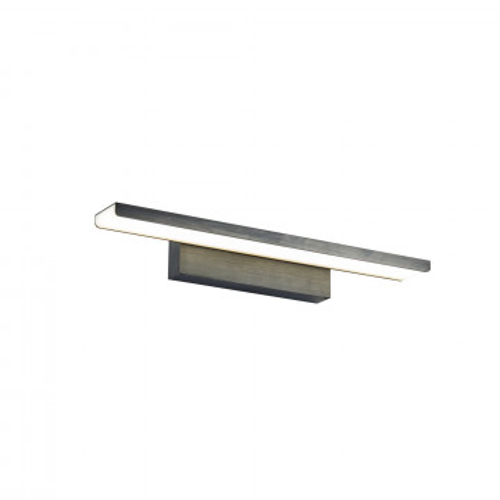 Настенный светодиодный светильник для подсветки картин Maytoni Gleam MIR005WL-L16B, LED 16W 4400K 1200lm CRI85, черный, металл, пластик