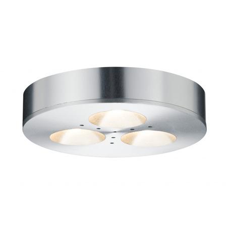 Мебельный светодиодный светильник Paulmann Micro Line LED Plane 92587, LED 3W, алюминий, металл