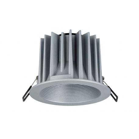 Встраиваемый светодиодный светильник Paulmann Helia 92672, IP65, LED 12,6W, алюминий, металл
