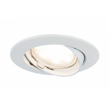 Встраиваемый светодиодный светильник Paulmann Premium Line LED 230V Coin Satin 51mm 92803, IP23, LED 6,8W, металл