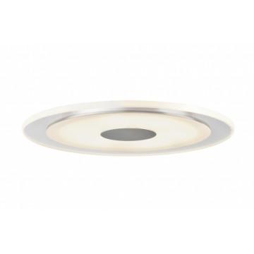 Встраиваемая светодиодная панель Paulmann Premium Whirl LED 92543, IP23, LED 6W, алюминий, металл с пластиком