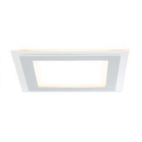 Встраиваемая светодиодная панель Paulmann Premium Line DecoDot dimmable 92706, LED 7,5W, белый, металл со стеклом