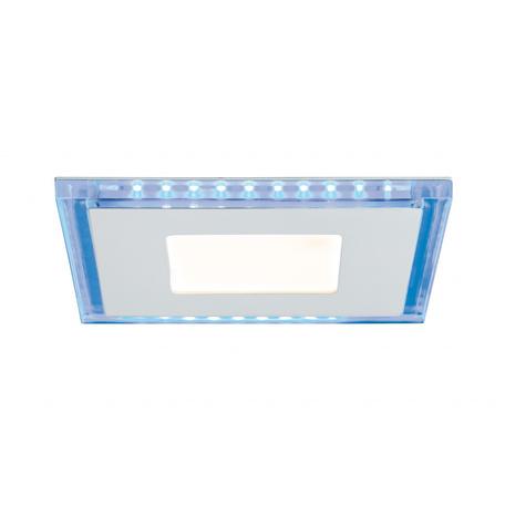 Светодиодная панель Paulmann Premium Line Panel 92710, LED 14W, белый, металл со стеклом