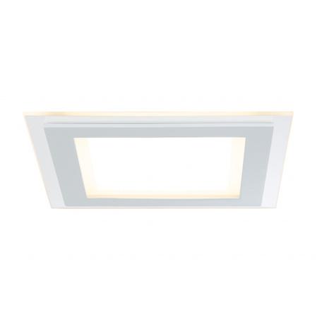 Светодиодная панель Paulmann Premium Line DecoDot dimmable 92734, LED 7,5W, белый, металл со стеклом
