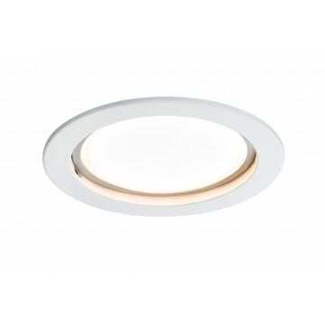 Светодиодная панель Paulmann Premium Line LED 230V Coin 75mm 92786, IP44, LED 14W, белый, металл