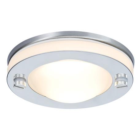 Встраиваемый светильник Paulmann Premium Line IP65 Deco 92536, IP65, 1xGU5.3x35W, хром, металл со стеклом