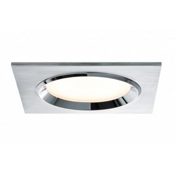 Встраиваемый светодиодный светильник Paulmann Dice 92696, LED 8W, алюминий, металл со стеклом