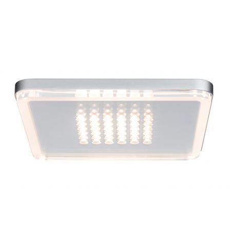 Встраиваемый светодиодный светильник Paulmann Premium EBL Panel Shower LED 92791, LED 10W, матовый хром, металл с пластиком - миниатюра 1