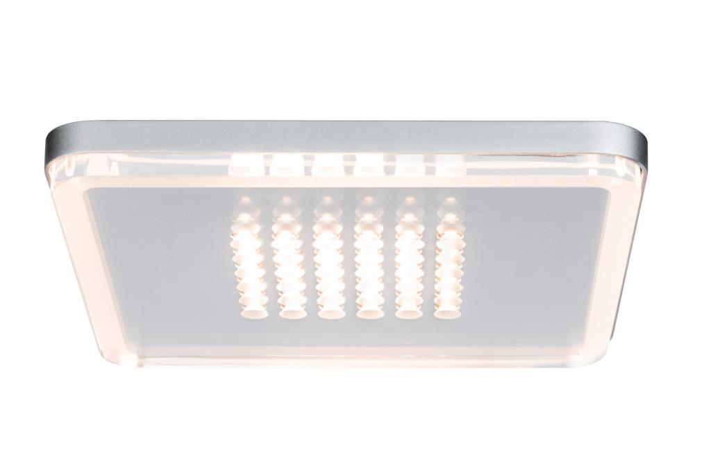 Встраиваемый светодиодный светильник Paulmann Premium EBL Panel Shower LED 92791, LED 10W, матовый хром, металл с пластиком - фото 1