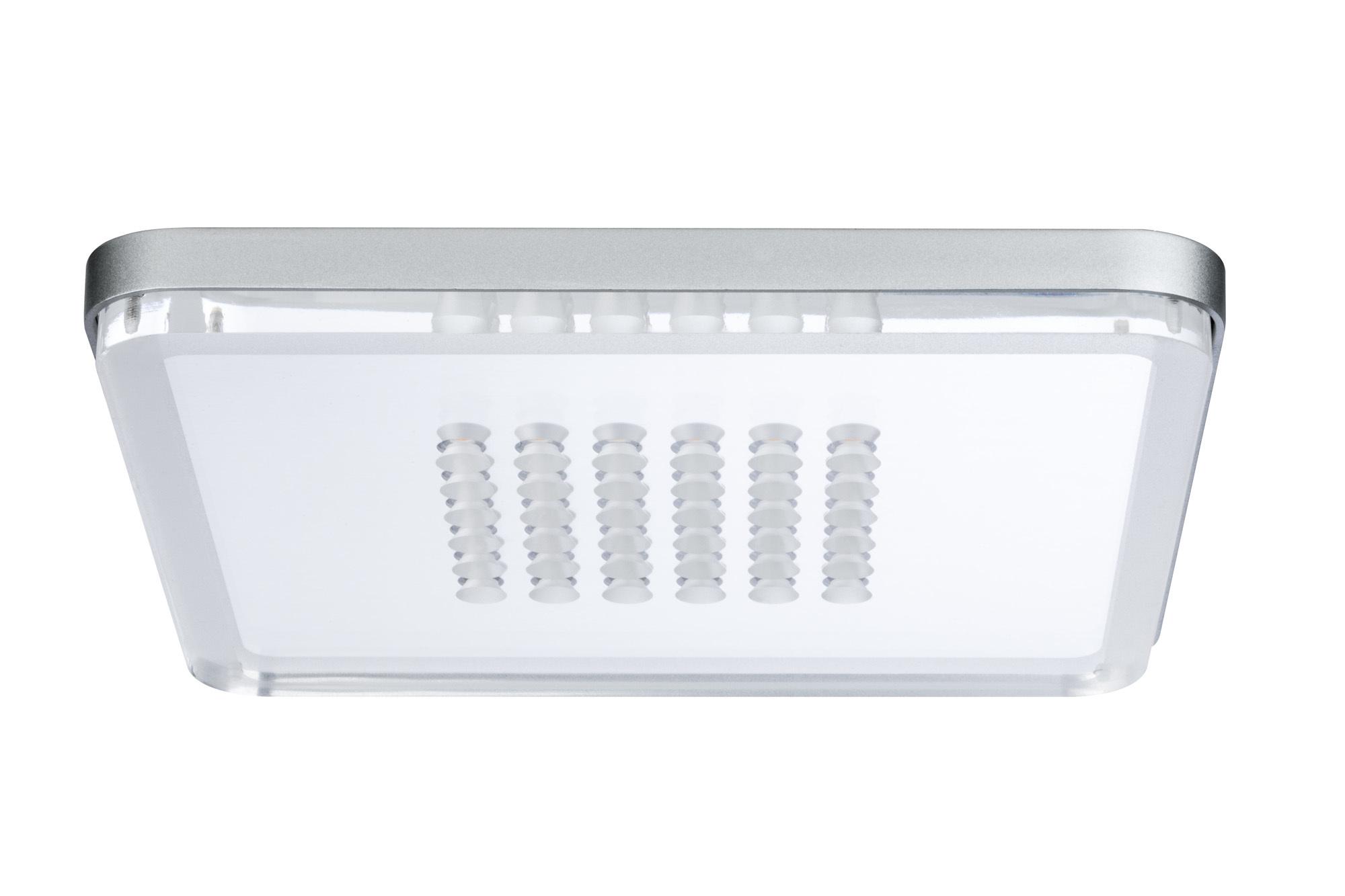 Встраиваемый светодиодный светильник Paulmann Premium EBL Panel Shower LED 92791, LED 10W, матовый хром, металл с пластиком - фото 2