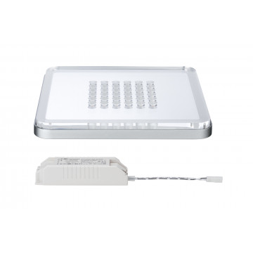 Встраиваемый светодиодный светильник Paulmann Premium EBL Panel Shower LED 92791, LED 10W, матовый хром, металл с пластиком - миниатюра 3