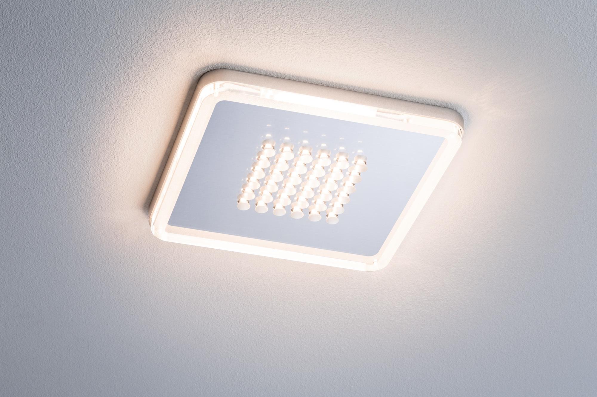 Встраиваемый светодиодный светильник Paulmann Premium EBL Panel Shower LED 92791, LED 10W, матовый хром, металл с пластиком - фото 4