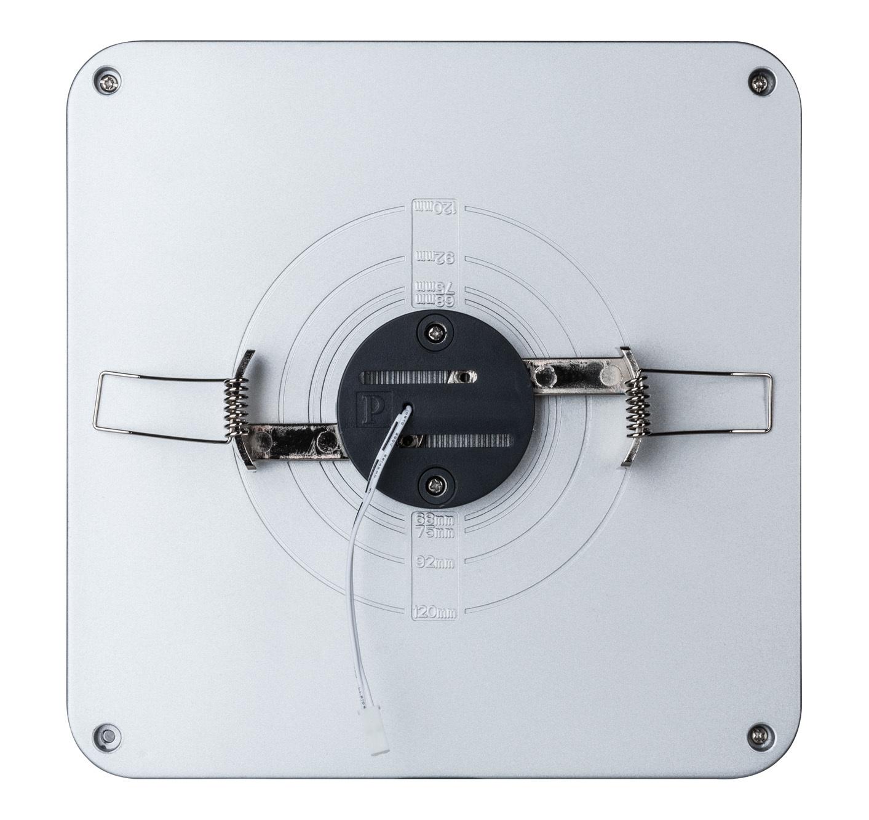 Встраиваемый светодиодный светильник Paulmann Premium EBL Panel Shower LED 92791, LED 10W, матовый хром, металл с пластиком - фото 5