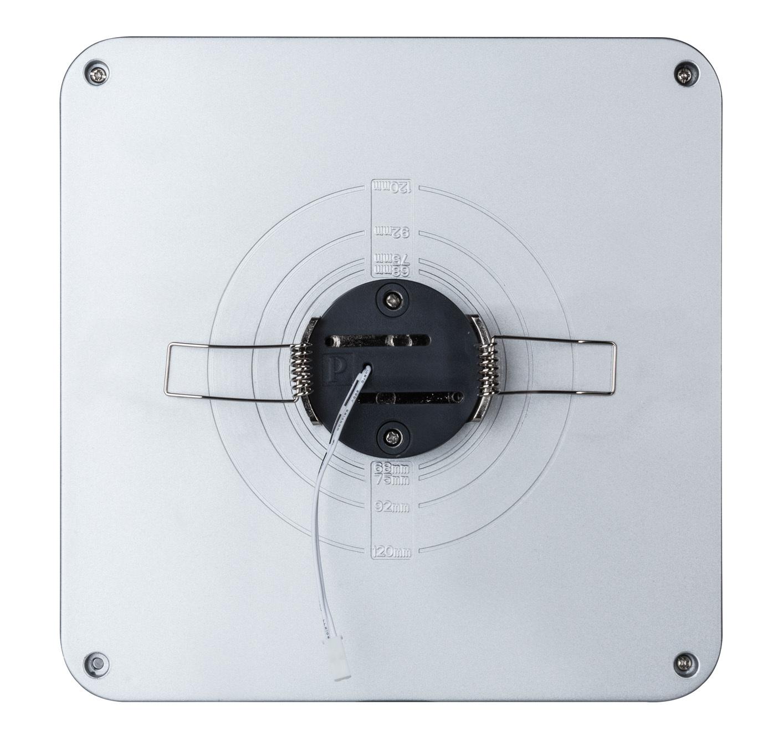 Встраиваемый светодиодный светильник Paulmann Premium EBL Panel Shower LED 92791, LED 10W, матовый хром, металл с пластиком - фото 6