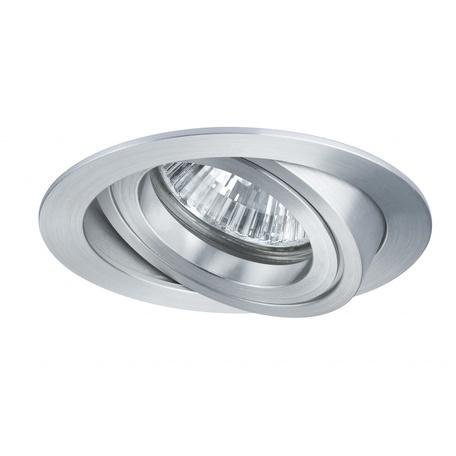 Встраиваемый светильник Paulmann Premium Line DrilLED Alu 92522, IP23, 1xGX5.3x35W, металл