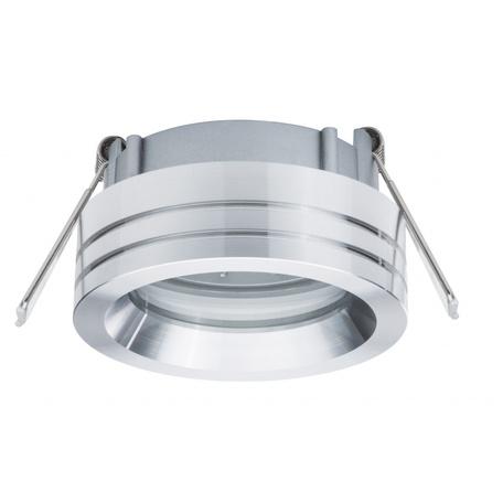 Встраиваемый светильник Paulmann 2Easy Spot-Set Premium 92596, IP23, 1xGU10x3,5W, алюминий, металл