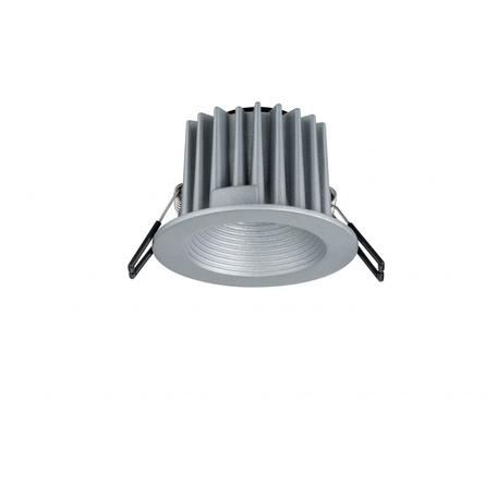 Встраиваемый светодиодный светильник Paulmann Helia 92641, IP65, LED 8,7W, алюминий, металл