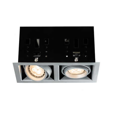 Встраиваемый светильник Paulmann Premium Line Cardano LED 230V GU10 92664, 2xGU10x4W, металл