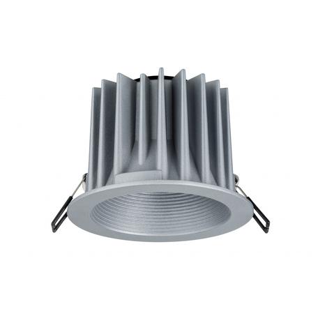 Встраиваемый светодиодный светильник Paulmann Helia 92670, IP65, LED 12,6W, алюминий, металл