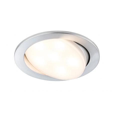 Встраиваемый светодиодный светильник Paulmann Premium Line Plainly 92673, LED 7W, алюминий, металл