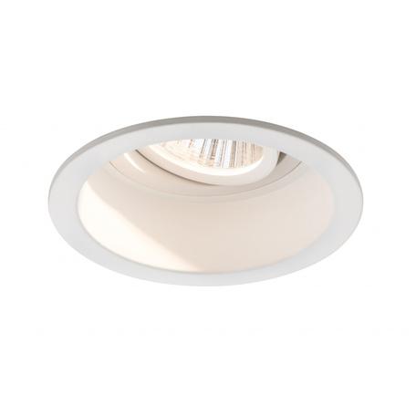 Встраиваемый светодиодный светильник Paulmann Premium Line Daz LED 92674, LED 19W, белый, металл