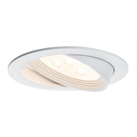 Встраиваемый светодиодный светильник Paulmann Albina 92688, LED 7,2W, белый, металл