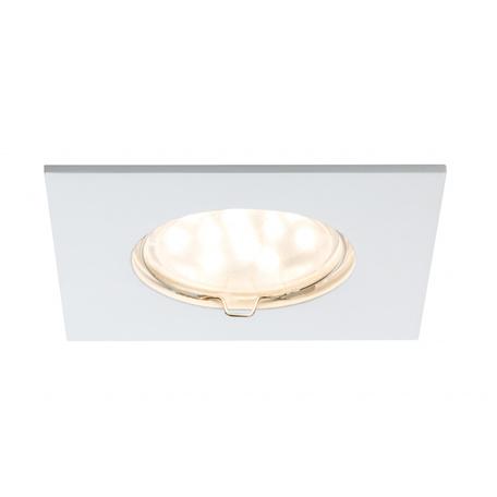 Встраиваемый светодиодный светильник Paulmann Premium Line LED 230V Coin 51mm 92760, IP44, LED 6,8W, белый, металл