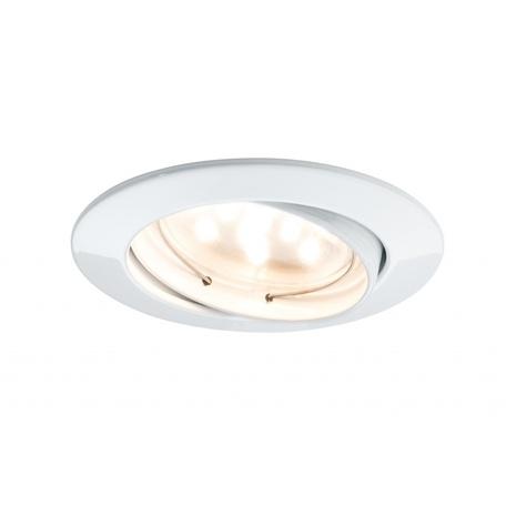 Встраиваемый светодиодный светильник Paulmann Premium Line LED 230V Coin 51mm 92765, IP23, LED 6,8W, металл